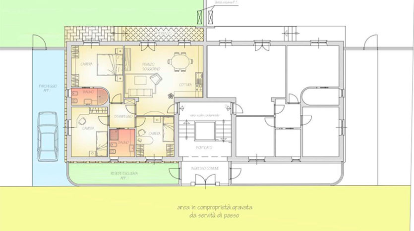 Appartamento in vendita nel centro storico di Pietrasanta