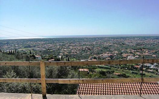 Villa vista mare al grezzo delle rifiniture in vendita sulla collina di Pietrasanta cod 1619